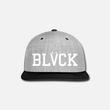 Black BLACK - Snap-back Baseball Cap