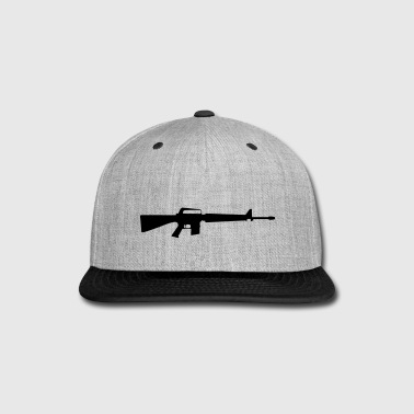Rifle Gewehr M16 - Snap-back Baseball Cap