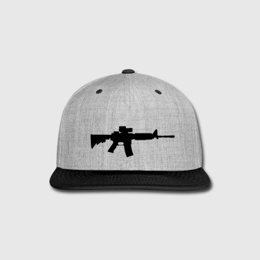 Gun M4 - Snap-back Baseball Cap