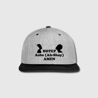 Ash Hotep Ashe Amen snap back cap - Snap-back Baseball Cap