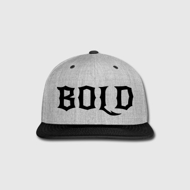 BOLD - Snap-back Baseball Cap