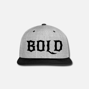 Bold BOLD - Snap-back Baseball Cap