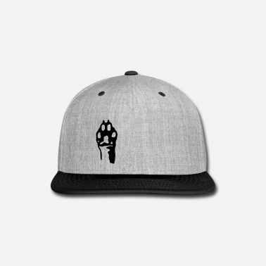 Cattle Dog Hand Print - Snap-back Baseball Cap