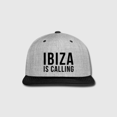 Ibiza Is Calling 2 - Snap-back Baseball Cap