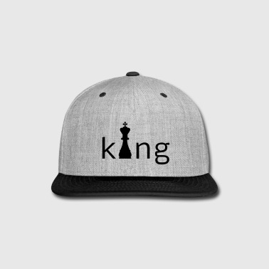 King Chess - Snap-back Baseball Cap