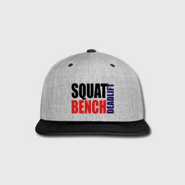 Squat Bench Deadlift - Snap-back Baseball Cap