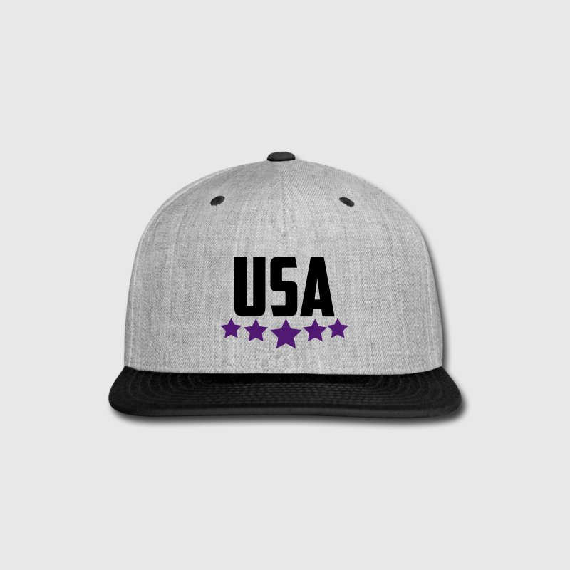 USA 5 Star  - Snap-back Baseball Cap
