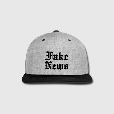 Fake News - Snap-back Baseball Cap