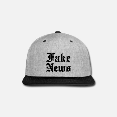 Fake Fake News - Snap-back Baseball Cap