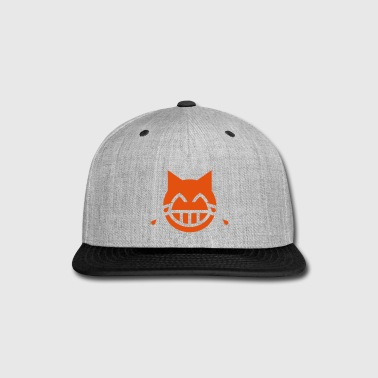 Tears of Joy Emoji Cat - Snap-back Baseball Cap