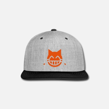 Emoji Tears of Joy Emoji Cat - Snap-back Baseball Cap