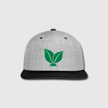 vegan and vegetarian - Snap-back Baseball Cap