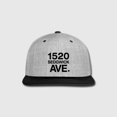 Hip 1520 SEDGWICK AVE. - Snap-back Baseball Cap