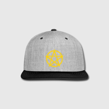 Pentagram - Snap-back Baseball Cap