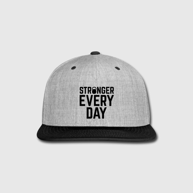 Stronger Every Day - Snap-back Baseball Cap