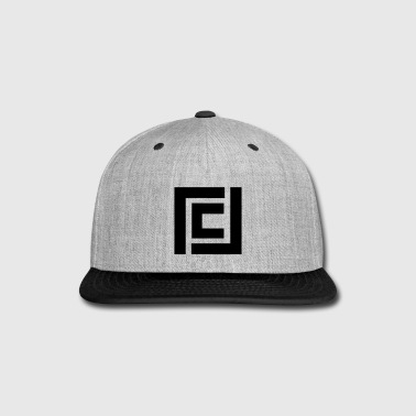 Grey Hat with Black Logo - Snap-back Baseball Cap