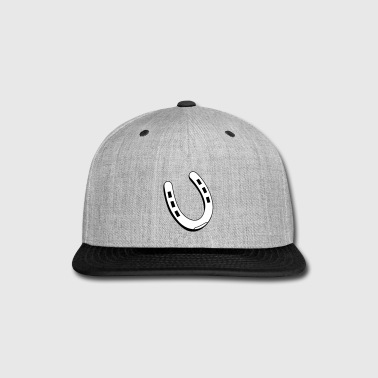 Horseshoe - Snap-back Baseball Cap