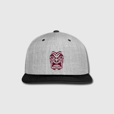 Tribal Mask - Snap-back Baseball Cap