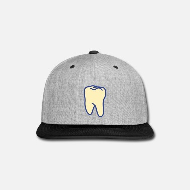 Tooth teeth - tooth - Snap-back Baseball Cap