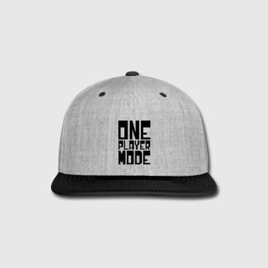 ONE PLAYER MODE - Snap-back Baseball Cap