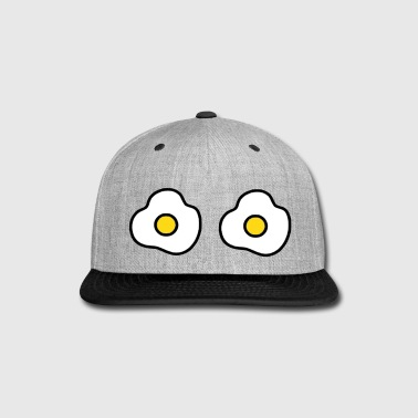 fried eggs - Snap-back Baseball Cap