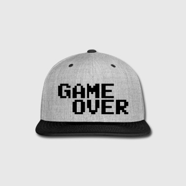 Game Over - Snap-back Baseball Cap