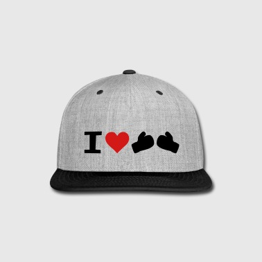 I Love Boxing - Snap-back Baseball Cap