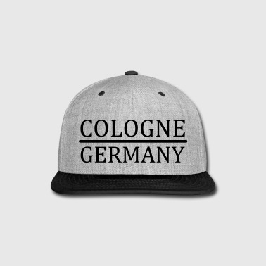Cologne - Germany - Snap-back Baseball Cap