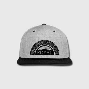 Royal Design - Royal - Snap-back Baseball Cap