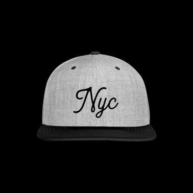 NYC Serif T-Shirt - Snap-back Baseball Cap