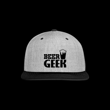 beer geek - Snap-back Baseball Cap
