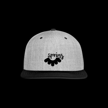 Spring - Snap-back Baseball Cap