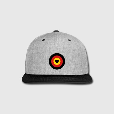 I love Germany Dartboard - Snap-back Baseball Cap