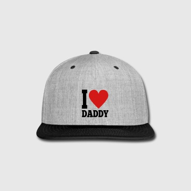 I Love Daddy - Snap-back Baseball Cap