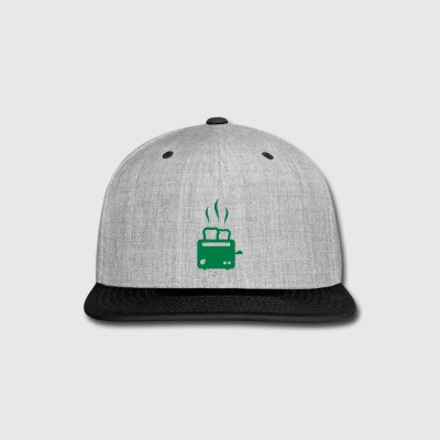 toaster - breakfast - food - Snap-back Baseball Cap