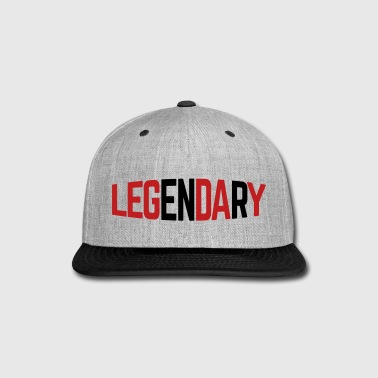Leg Day  - Snap-back Baseball Cap