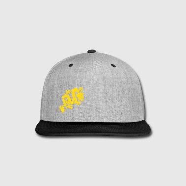 Tribal Dragon - Tattoo - Cool - Vector - Fantasy - Snap-back Baseball Cap