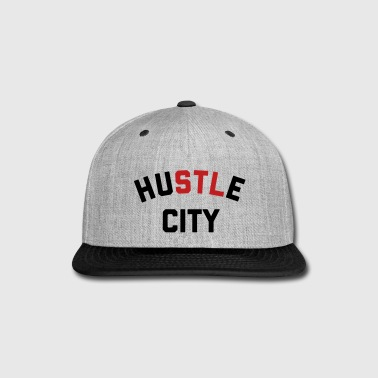 Hustle City - Snap-back Baseball Cap