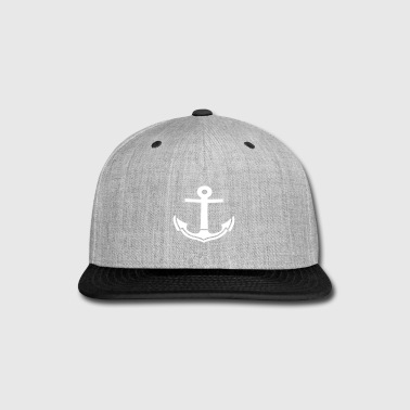 anchors - Snap-back Baseball Cap
