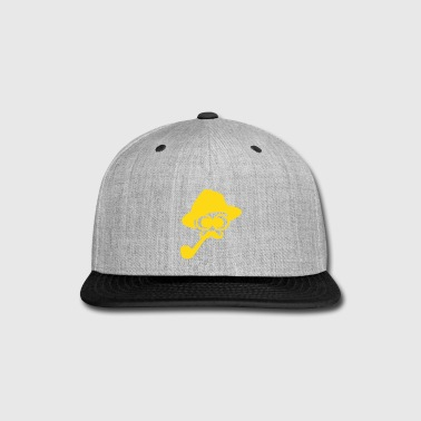 smoking man - Snap-back Baseball Cap