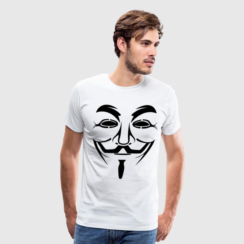 Anonymous HD VECTOR - Men's Premium T-Shirt