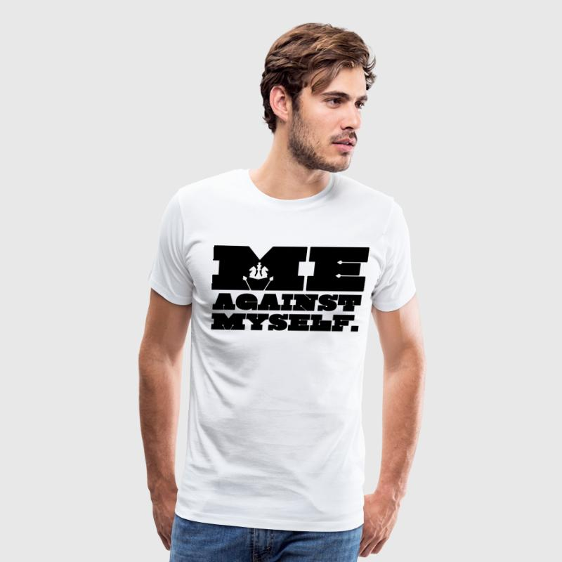 Me Against Myself - Men's Premium T-Shirt