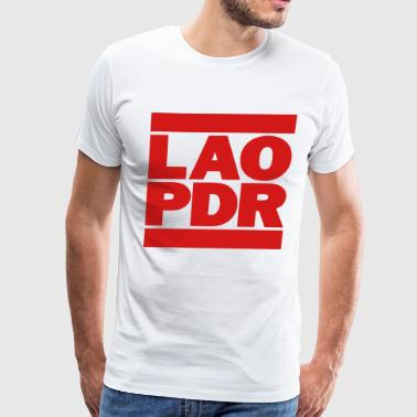 LAO PDR - Men's Premium T-Shirt