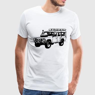 Defender Desert (1 color) - Men's Premium T-Shirt