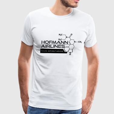 Hofmann Airlines [Black] - Men's Premium T-Shirt