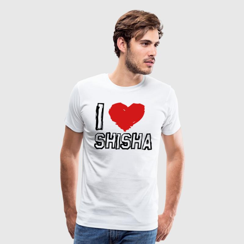 I LOVE SHISHA! - Men's Premium T-Shirt