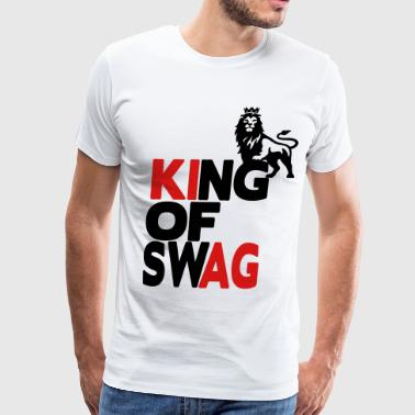 KING OF Swag - Men's Premium T-Shirt