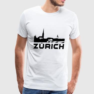 Zurich - Men's Premium T-Shirt