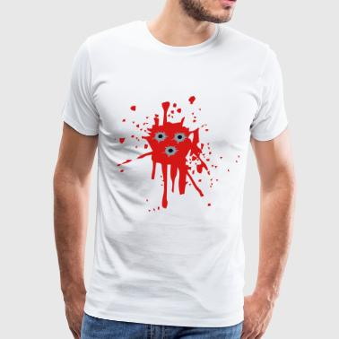 Bullet Holes - Men's Premium T-Shirt