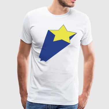 star jumping out - Men's Premium T-Shirt